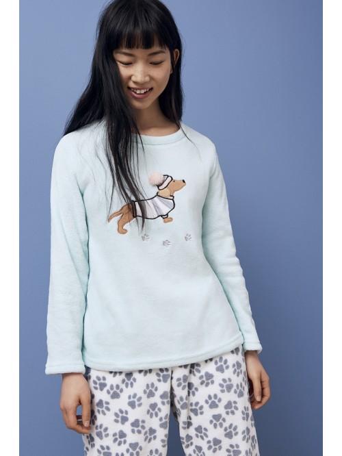пижама женская пушистый фл . bb14592b7afcb