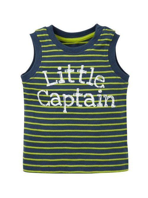"майка  ""Little Captain"" Mothercare"