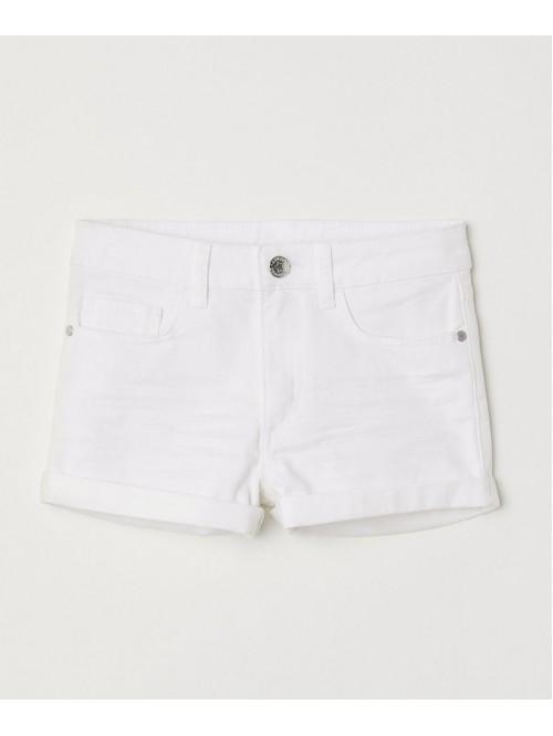 cb89da5b987 шорты cotton jeans White HM ...