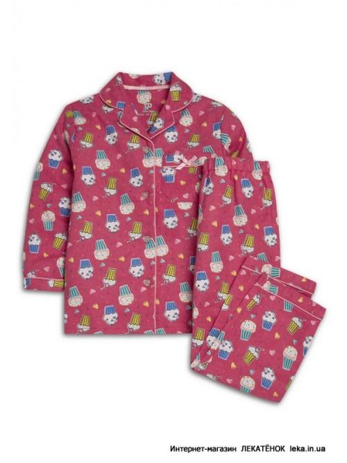 5e34a3d17a7 пижама фланелевая Pink cake YD Pri... ...